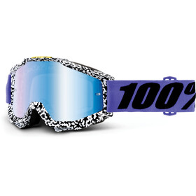 100% Accuri Anti Fog Mirror Goggles hvid/sort